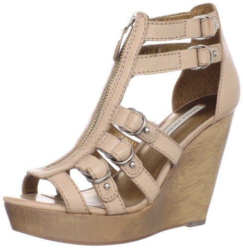 Cynthia Vincent Women Jagger Wedge Sandal Natural