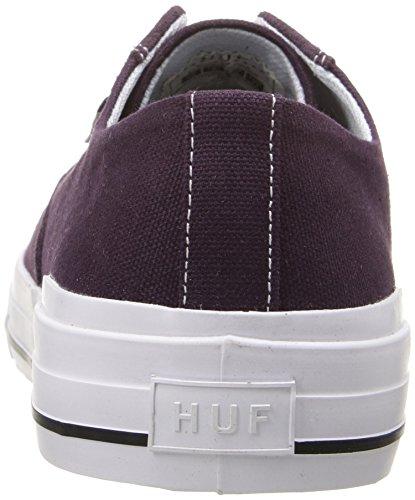 HUF - Zapatillas de skateboarding para hombre Blanco Bone White Multicolor