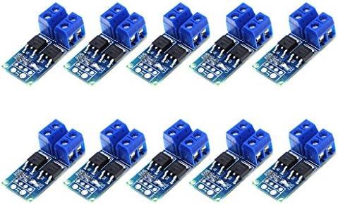 15A MOS-Triggerschalter Treibermodul FET PWM-Regler High Power Electronic Switch Control Board (10 Stück)