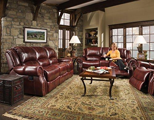 Cambridge 98528A2PC-OB Living Room Furniture, Brown