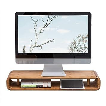 Soporte para Monitor De Computadora Elevador De Escritorio: Amazon ...