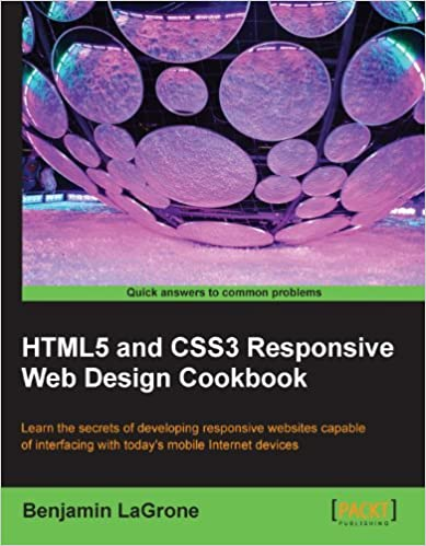 Amazon Com Html5 And Css3 Responsive Web Design Cookbook Ebook Lagrone Benjamin Kindle Store