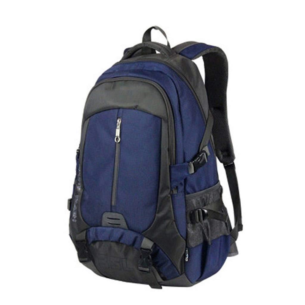 GUOQI Zaino da Esterno in Materiale da Viaggio in Poliammide per Uomo e Donna. Borsa da 35 Litri Impermeabile (colore   Blu)