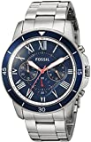 Fossil Men's FS5238 Grant Sport Chronograph Stainless Steel Watch (Small Image)