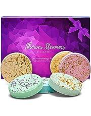 Cleverfy Shower Steamers - Aromatherapie Cadeaus Voor Vrouwen - [6x] Douchebommen Met Essentiële Oliën Voor Ontspanning – Te gekke SPA-Cadeaus voor Vriendin of Moeder, Verjaardagscadeau voor Vrouwen