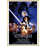 Star Wars Poster and Frame (Plastic) - Episode VI, Return Of The Jedi, One Sheet (36 x 24 inches)