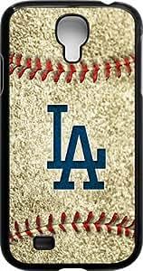 OTTHVE - MLB Team Logo, Los Angeles Dodgers Logo Samsung GALAXY S4 Cases (Black) - 3 hjbrhga1544