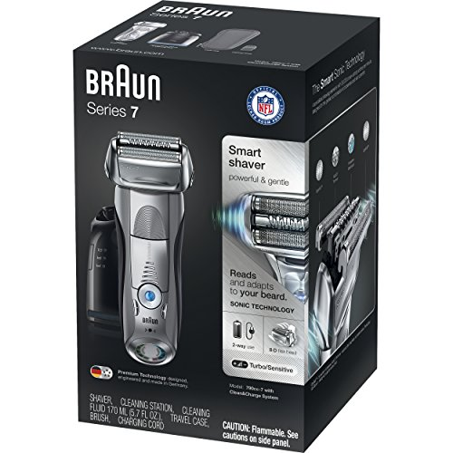 Braun Series 7 790cc Men's Electric Foil Shaver / Electric Razor, with Clean & Charge Station, Cordless by Braun (Image #4)