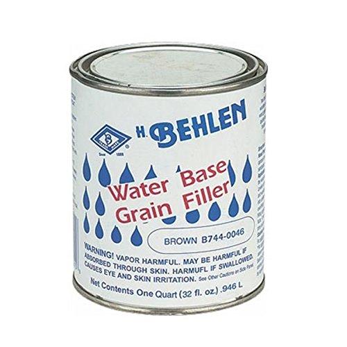 Behlen h3955 Water Based Grainフィラー – ブラウン  B0037MAN1Y