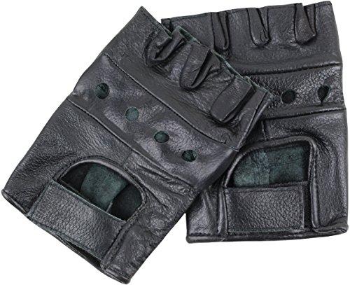 United heritage gants sans doigts Noir s
