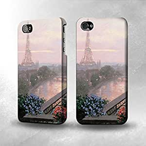 Apple iPhone 4 / 4S Case - The Best 3D Full Wrap iPhone Case - Terrace in Paris Eifel