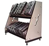 The Band Room Trumpet Case Storage & Transport Rack For Classrooms