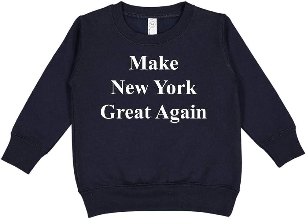 Make New York Great Again MAGA Trump Republican Toddler//Kids Sweatshirt