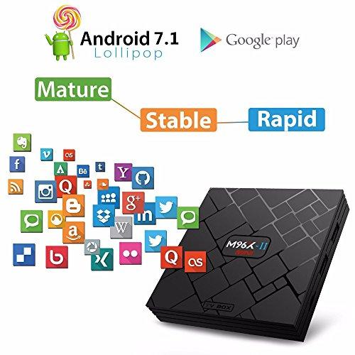 SHENGMO M96X-II MINI Android 7.1 TV BOX S905W Quad core 2GB Ram 16G Rom 5G Dual WIFI Bluetooth 4K H.265 HDMI 2.0 KODI 18 Tv Box by Shengmo (Image #1)