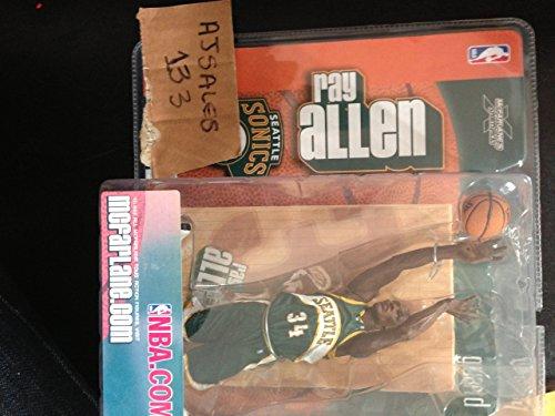 McFarlane Toys NBA Sports Picks Series 5 Action Figure Ray Allen Green Jersey