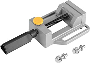 Mini Drill Press Vise Jewelry Clamp Mini Vise Mini Flat Clamp Table Jaw Bench Clamp for Jewelry Nuclear Clip On DIY Carving Tool