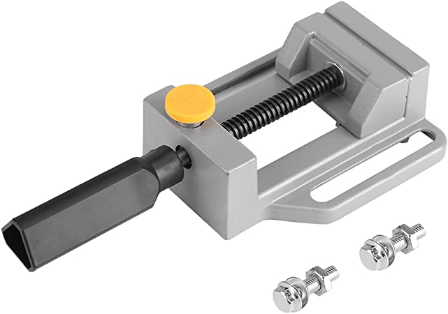 M00622 MOREZMORE Mini Drill Press Jaw Vise Flat Table Clamp Bench Vice