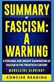 Book cover from Summary of Fascism: A Warning By Madeleine Albright by Concise Reading