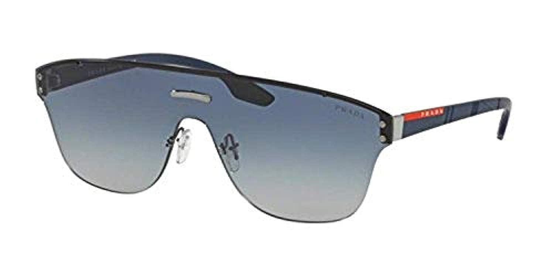 c2dd47475df Sunglasses Prada Linea Rossa PS 57 TS 292292 GUNMETAL at Amazon Men s  Clothing store