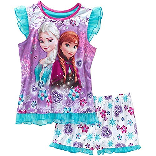 Disney Frozen Girls Pajamas - Disney Frozen Big Girls' Shorts Pajamas