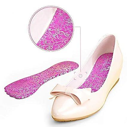 ce5617397ce90 Amazon.com: Gold Happy Women High Heels 7/10 Shoe Insoles ...