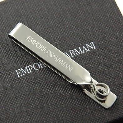 pretty nice df3e8 f61a5 Amazon | エンポリオ アルマーニ ロゴ タイバー EGS1714 EMPORIO ...