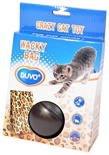 Duvo+ Crazy Bag crépitant with Ball Cat Toy