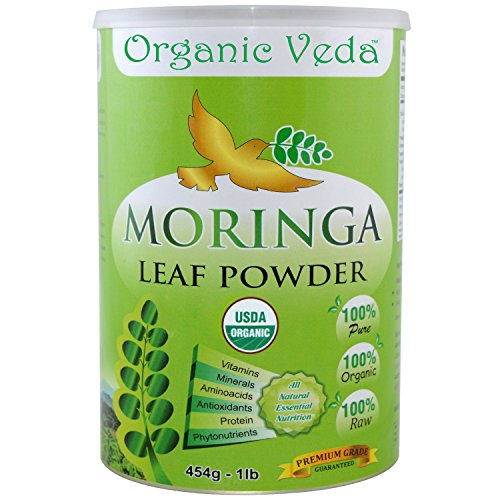 Organic Veda Certified Moringa Powder product image