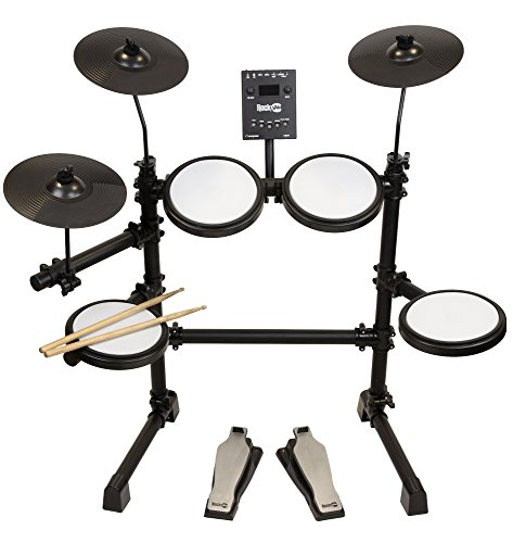 RockJam Mesh Head Kit, Eight Piece Electronic Drum