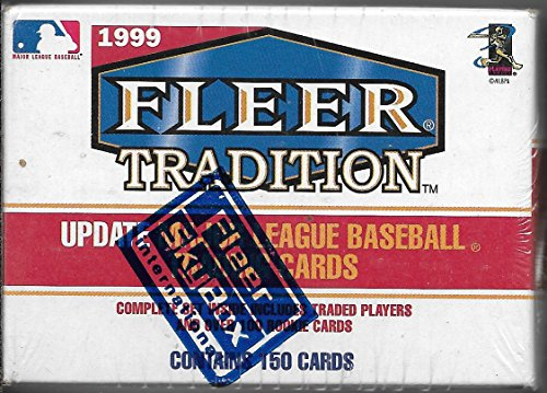 1999 Fleer Tradition Baseball Complete 150 Card Update Set Sealed In Box