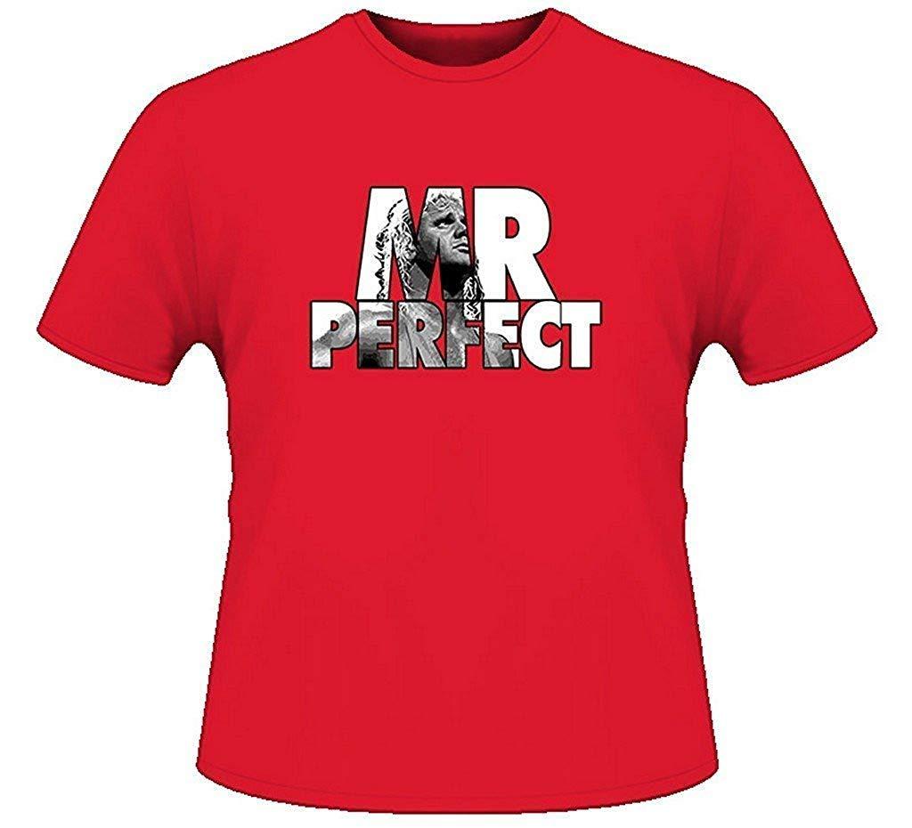 Mr Perfect Retro Wrestling T Shirt