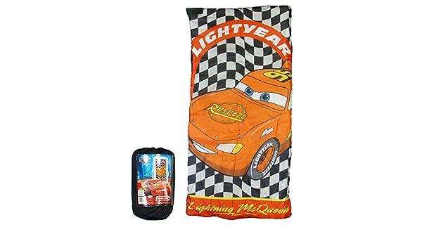 Disney Cars Rayo McQueen saco de dormir: Amazon.es: Deportes y aire libre
