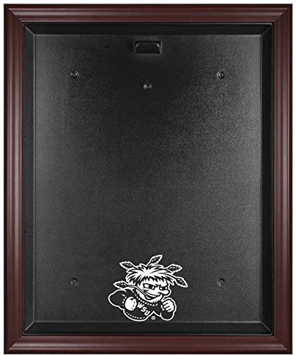 NCAA - Wichita State Shockers Framed Logo Jersey Display Case by Sports Memorabilia