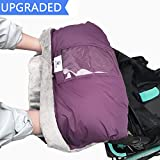 Fleece Stroller Hand Muff, BETITETO Winter Anti-Freeze Gloves for Baby Stroller Jogger Pram Water Resistant Warmer Gift for Parents and Caregivers (Purple)