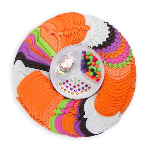 Foamies Halloween Party Platter: 449 Pieces -