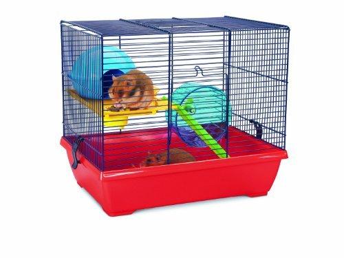 Savic Noddy Double Navy Blue Hamster Cage 42,5 X 29,5 X 37 C