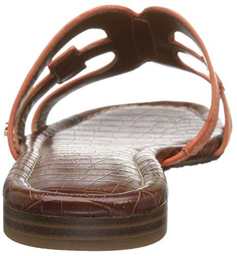 Sam Edelman Womens Bay Slide Sandalo Tangelo