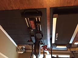 Stamina fold to fit folding equipment mat