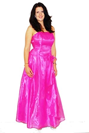 Ballkleid Designer | Designer Abendkleid Ballkleid Organza Pink 38 Amazon De Bekleidung
