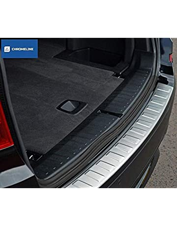 LSYBB Car Styling Fit For Ford Focus 3 MK3 2012-2017 Stainless Steel Back Rear Trunk Sill Scuff Plate Protection Pedal