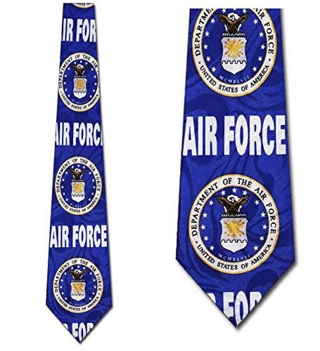 Air Force Ties Air Force Logo Neckties Military Tie Mens Necktie