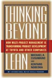 Thinking Beyond Lean, Michael A. Cusumano and Nobeoka Kentaro, 1439101779