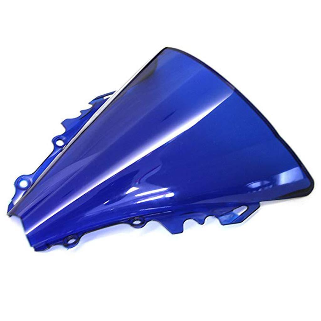 Iridio Motocicletta Doppia Protezione Dello Schermo Del Parabrezza Shield Vento Per Parabrezza