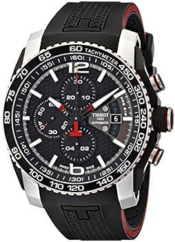 Tissot PRS 516 Black Dial Chronograph Men's Watch
