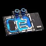 Bykski VGA GPU Water Cooling Block For N-MS1050-X MSI GTX1050 GTX1050TI