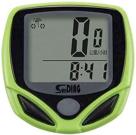 KPPTO Cronómetro, cronómetro de la Bicicleta, Deporte Temporizador ...