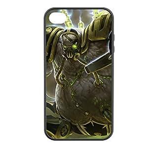 Urgot-009 League of Legends LoL case cover for Apple iPhone 4 / 4S - Rubber Black