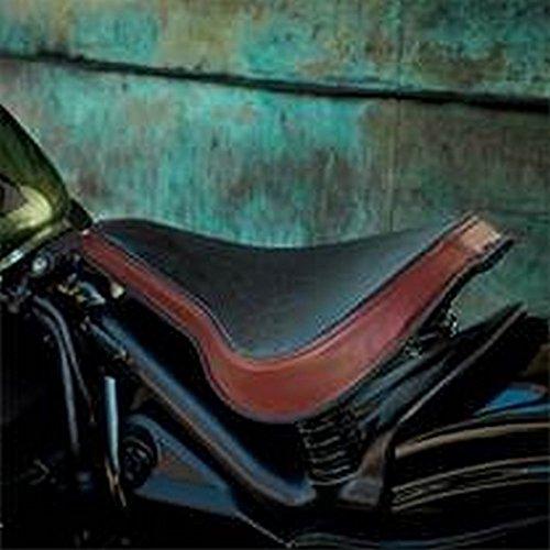 2014-2016 YAMAHA BOLT CRUISER SPRINGER BOBBER SOLO SEAT BLACK OXBLOOD FITS 14' BOLTS