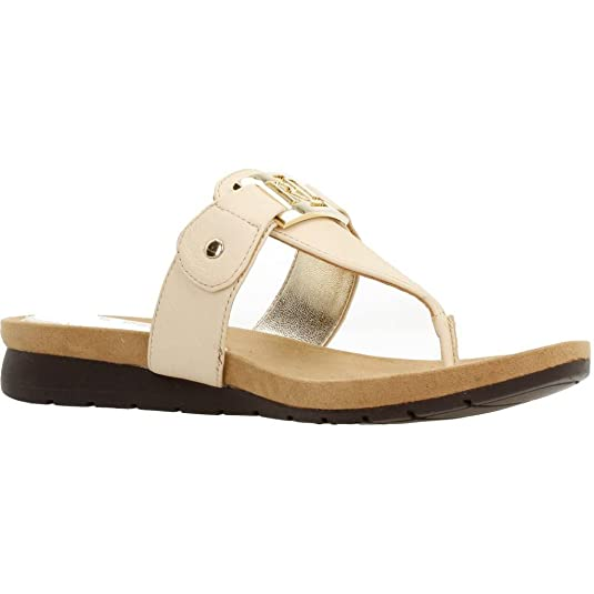 Lauren by Ralph Lauren Lakin Damen Sandalen Neutral