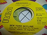 SAM SIGNOFF 45 RPM New York Skyline / Blue Duck Fly To North Country